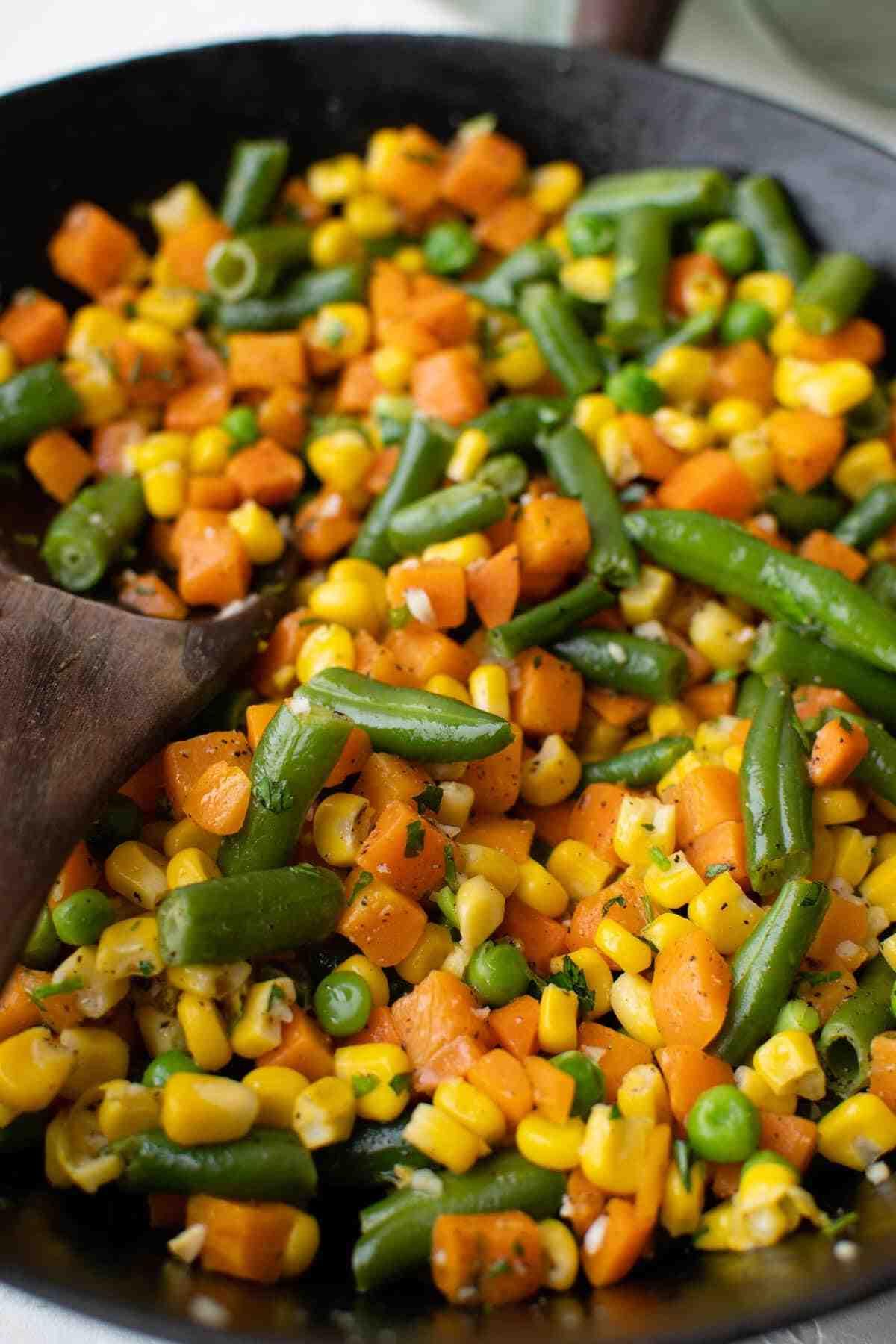 Comment cuisiner du maïs surgelé