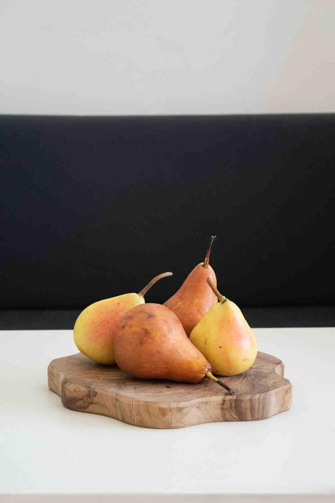 Comment pocher des poires