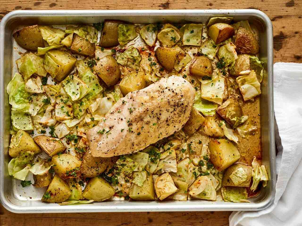 Comment cuire du chou et des pommes de terre