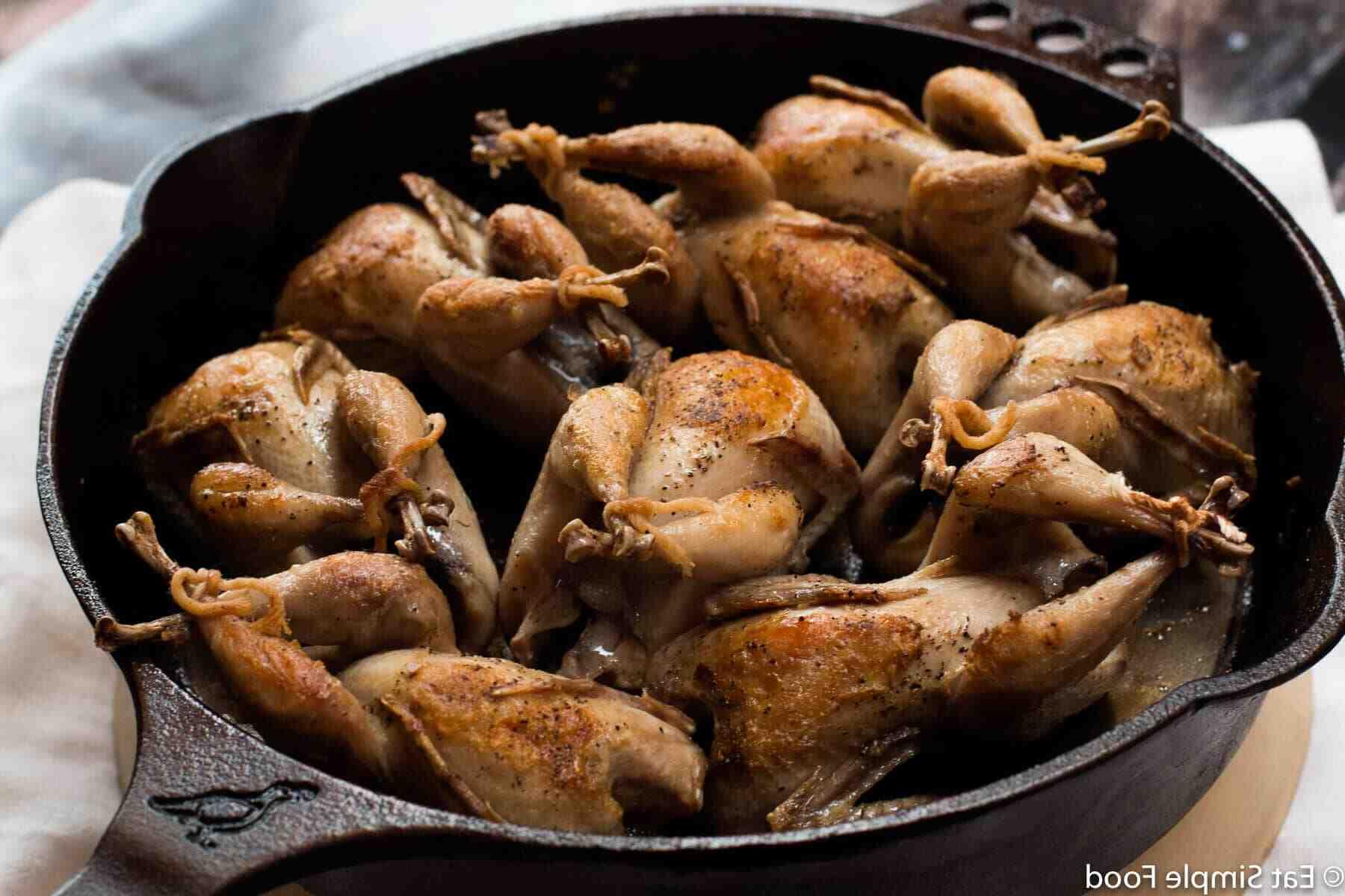 Comment cuisiner des cailles