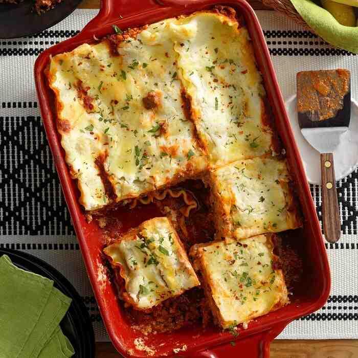 Comment faire des lasagnes