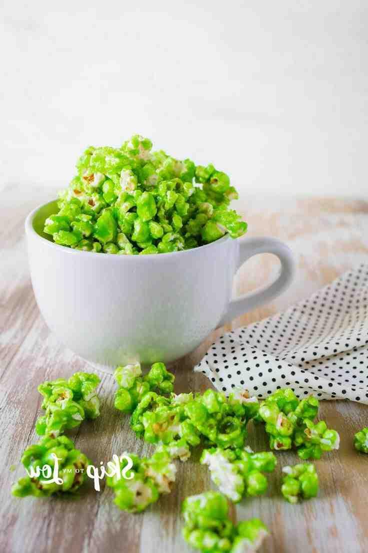 Comment faire du popcorn vert