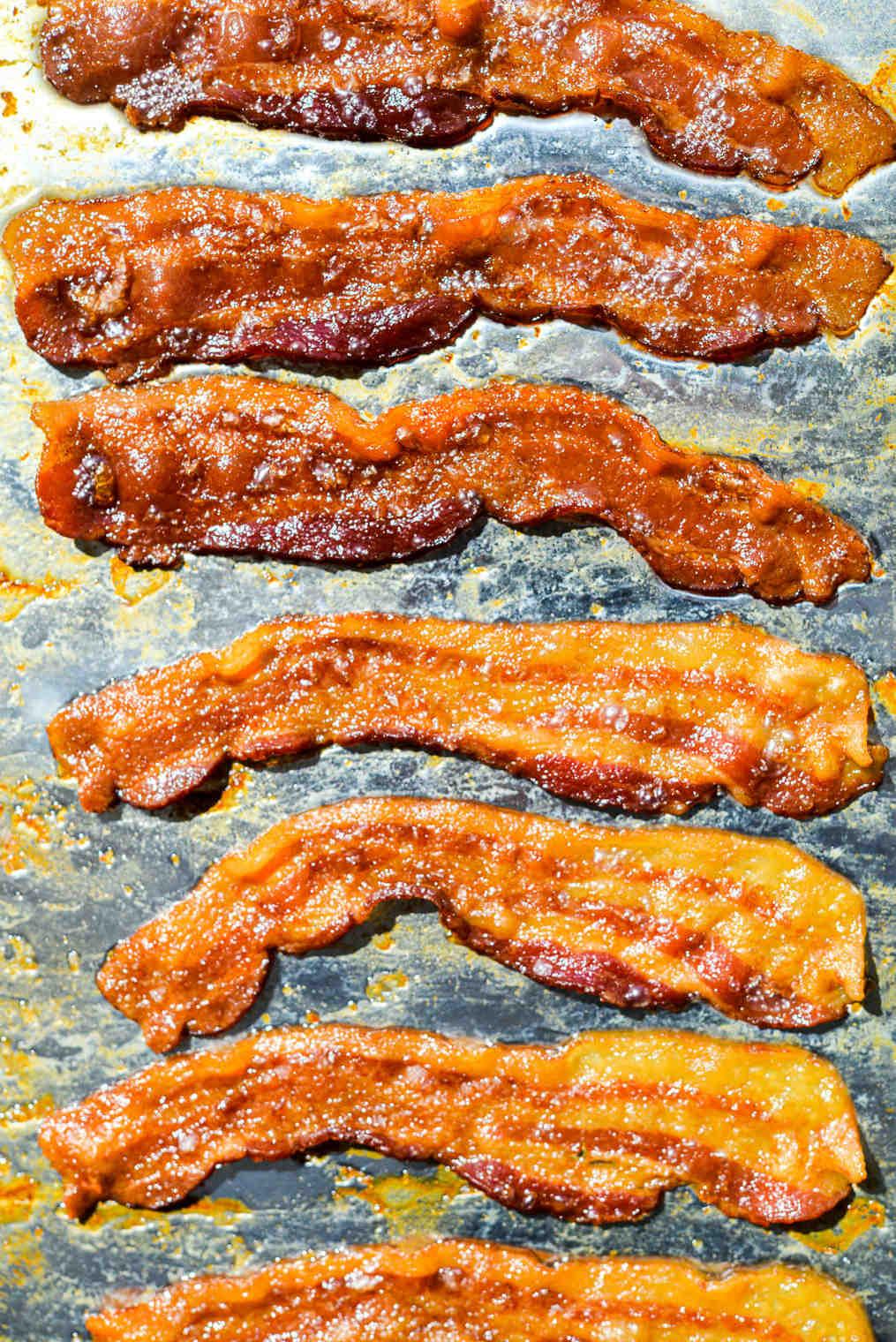 Comment frire du bacon